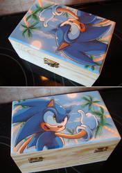 Sonic holiday box by Sega-Club-Tikal
