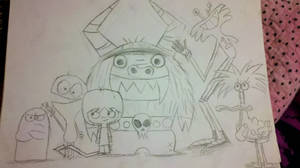 Foster Home For Imaginary Friends!