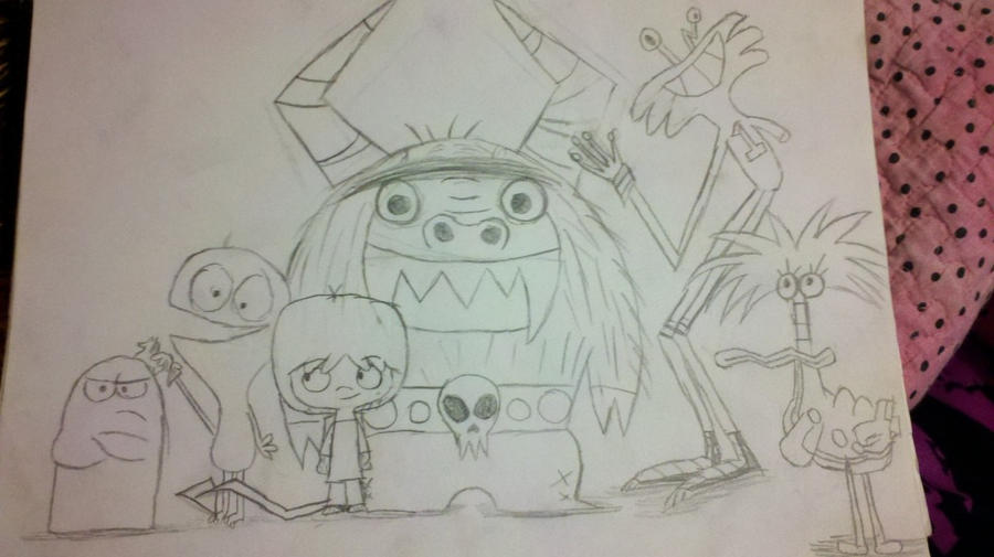 Foster Home For Imaginary Friends! By Fitchlitz On DeviantArt