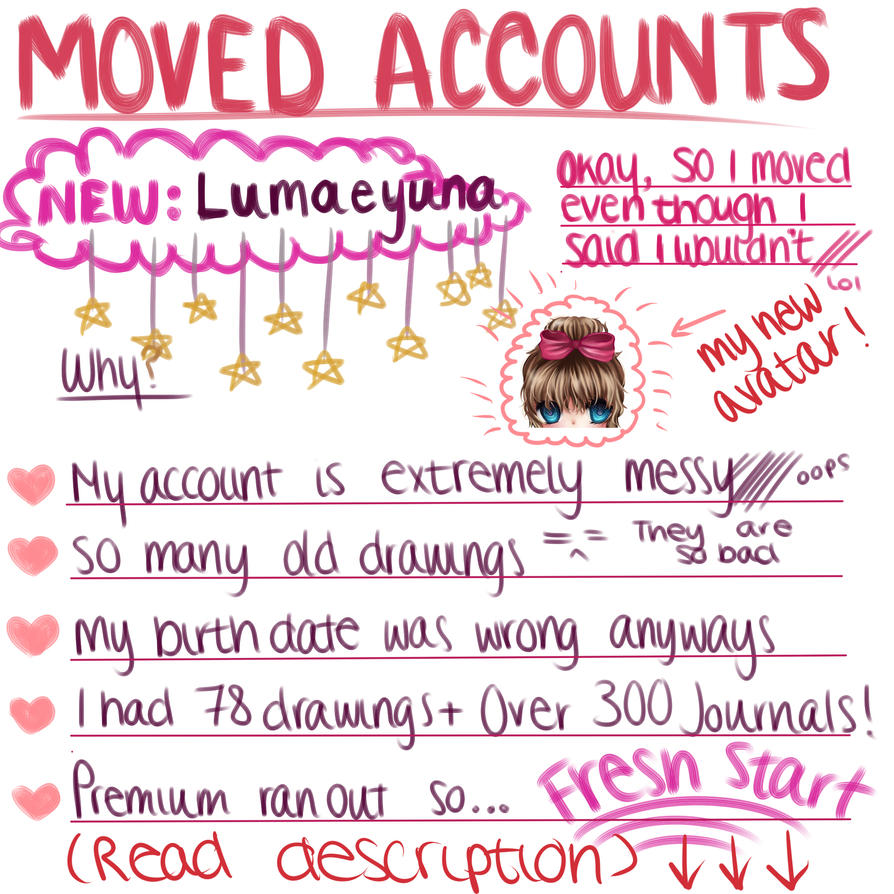 MOVED ACCOUNTS by lumaeya