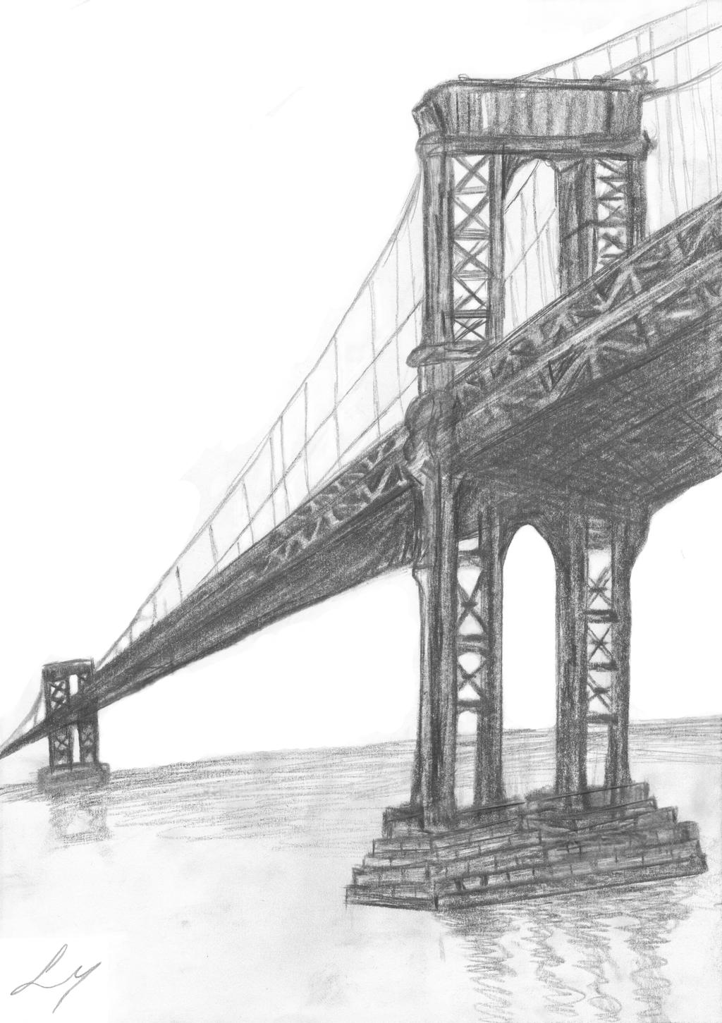 brooklyn bridge coloring pages - photo#26
