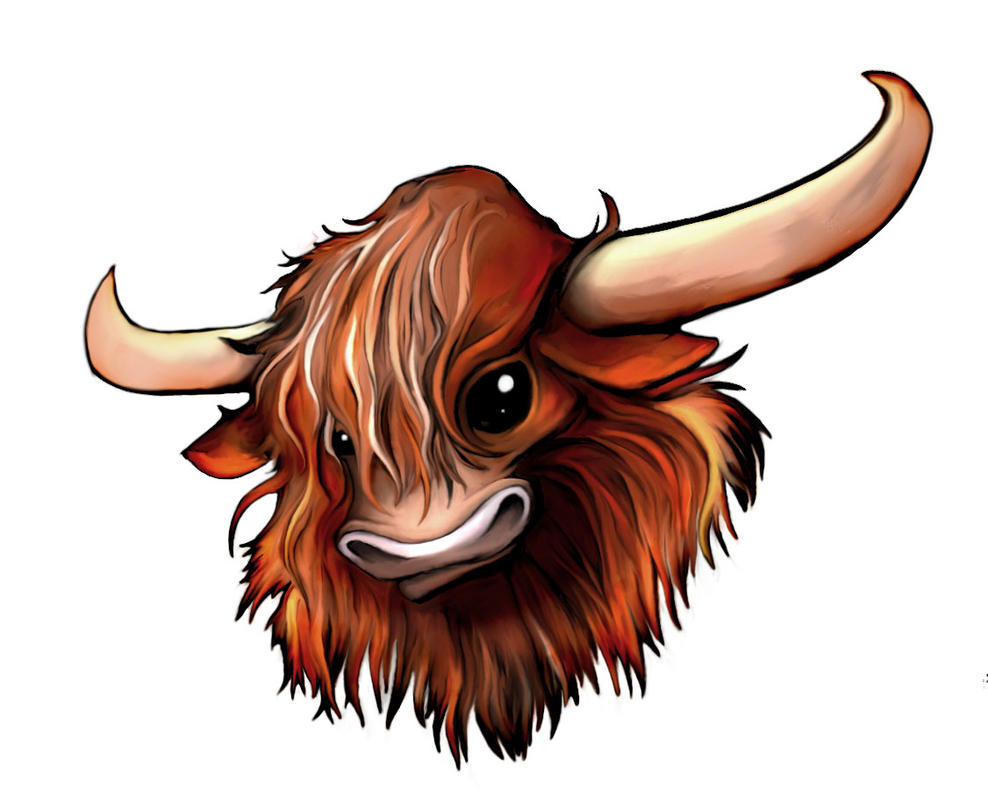 Highland Cow by mechacarassius