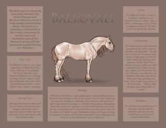 Ballovali Breed Sheet by Ehetere