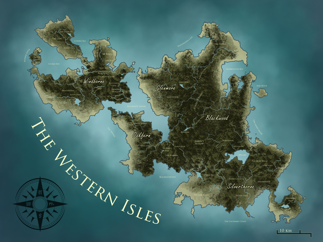 The Western Isles by Ehetere