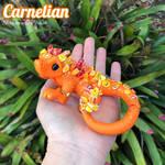Dragon by Prismatic Brush: Carnelian