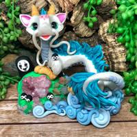 Dragon Haku Display by PrismaticBrush