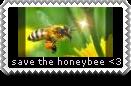 Honeybee Stamp 1 by ornithia