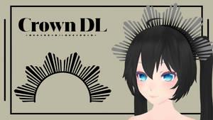 [MMD] Sunburst Crown DL