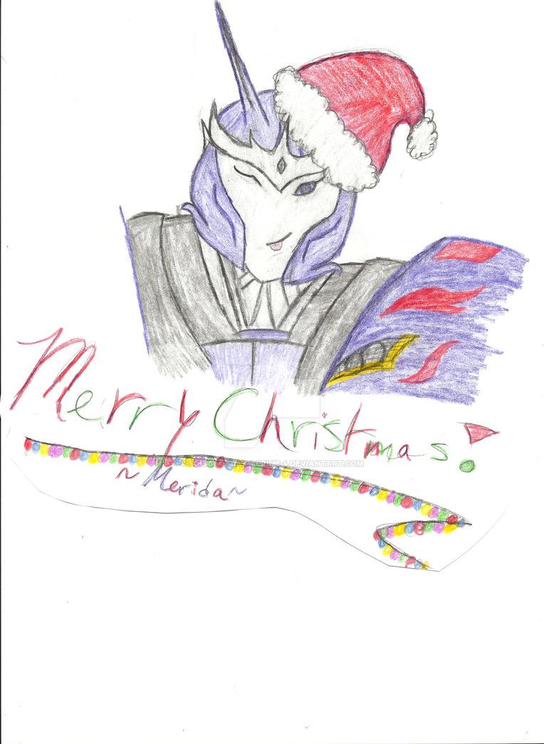Merry Christmas! ~Merida by Solar-Galaxy-Prime-4
