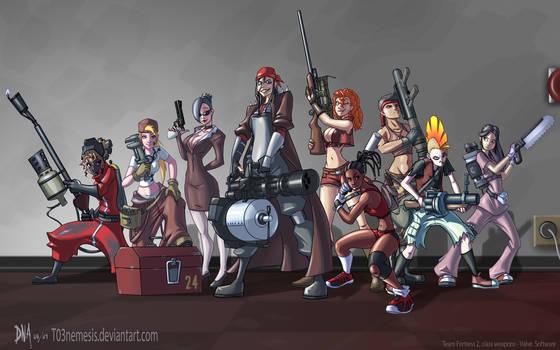 Team Fortress Fan Girls