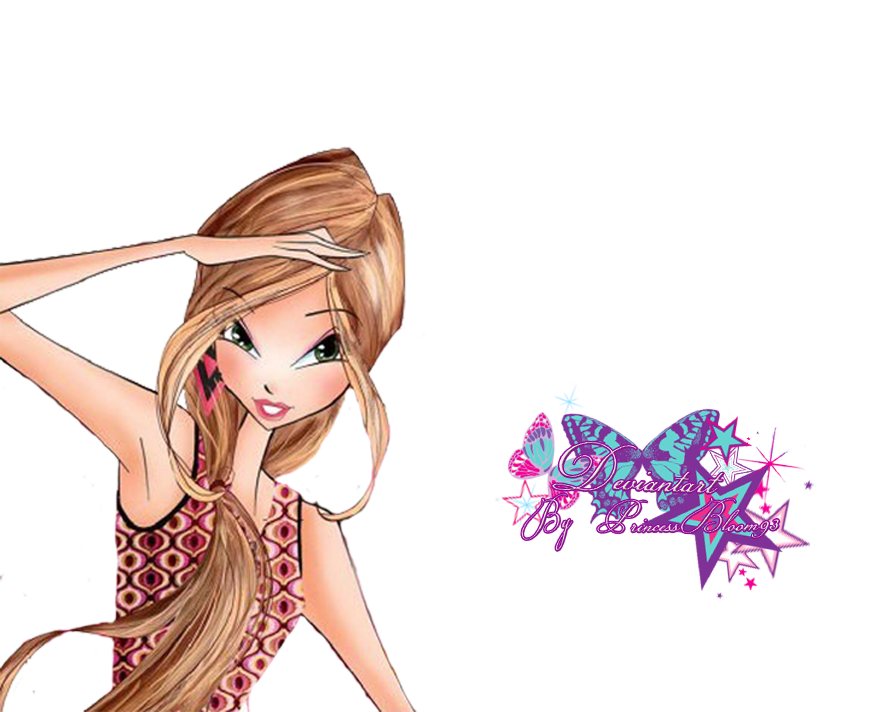 Winx Club Flora Courure - Pngs! by PrincessBloom93