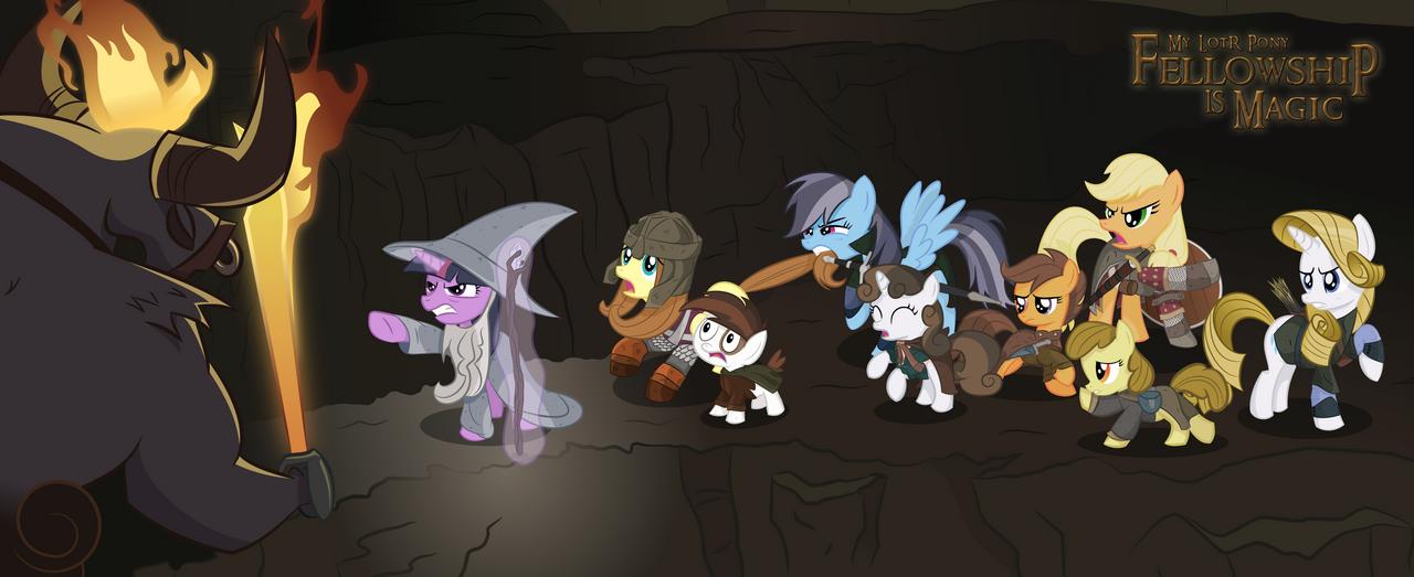 My LotR Pony: First Look by shadowdark3