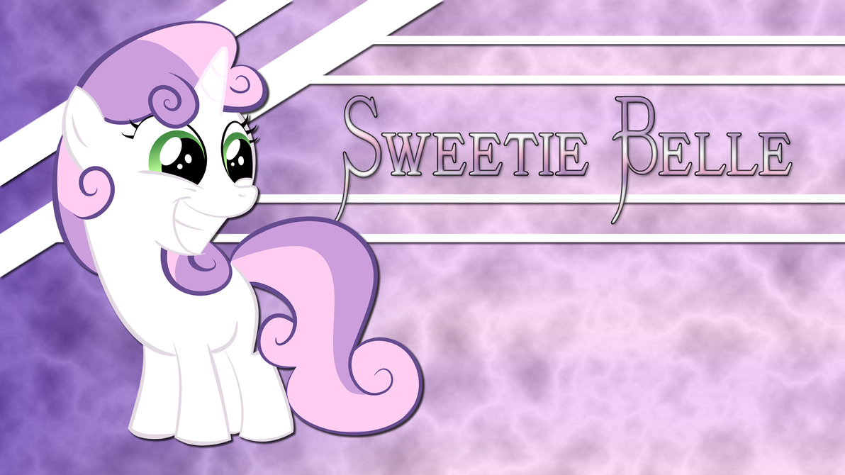 Sweetie Belle Wallpaper by shadowdark3