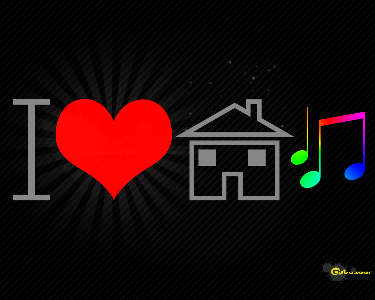 I Love House Music Wallpapers Favourite Wallpapers