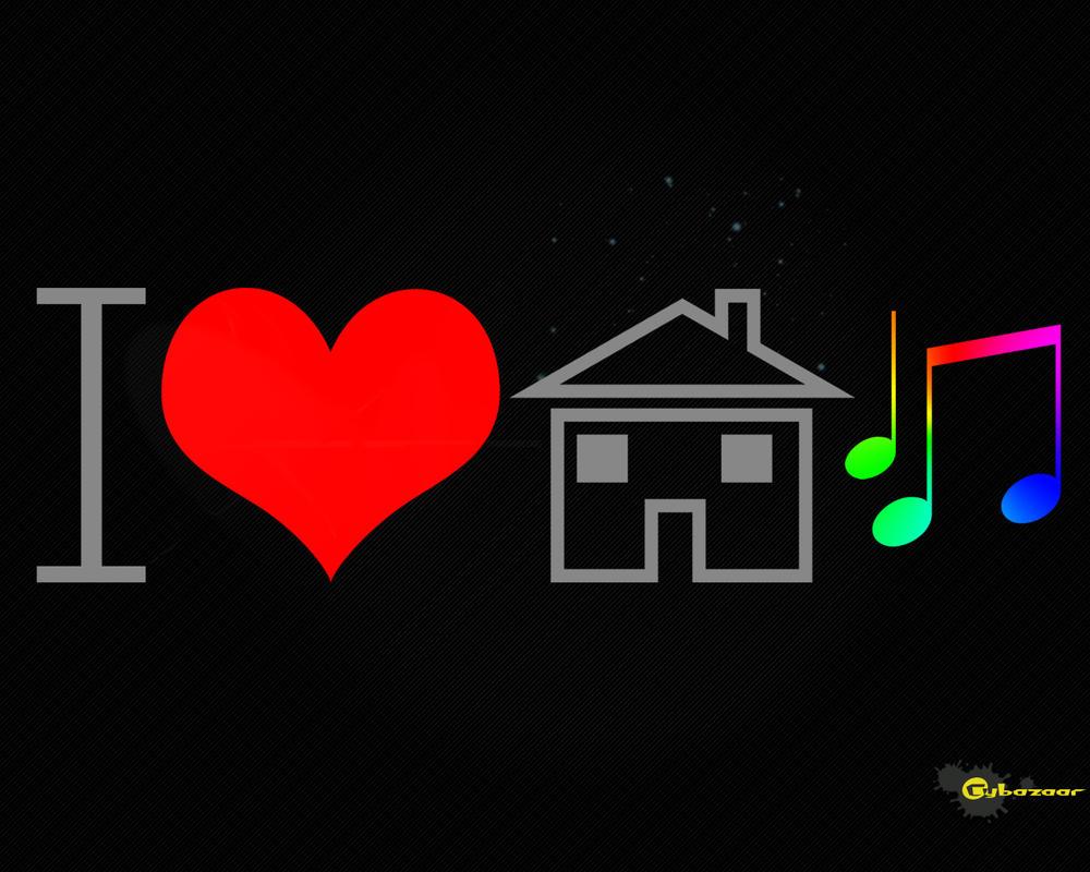 I love house music ver 2 by cybazaar on deviantart for House music art
