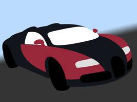Vector Car Bugatti Veyron WIP2