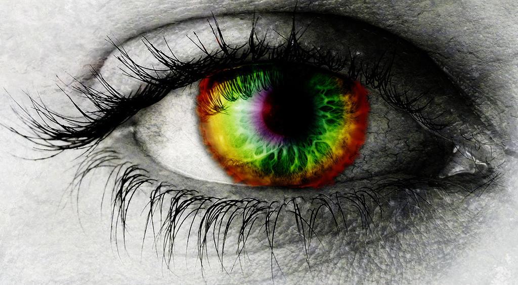 Rainbow Eye by TheThemePark