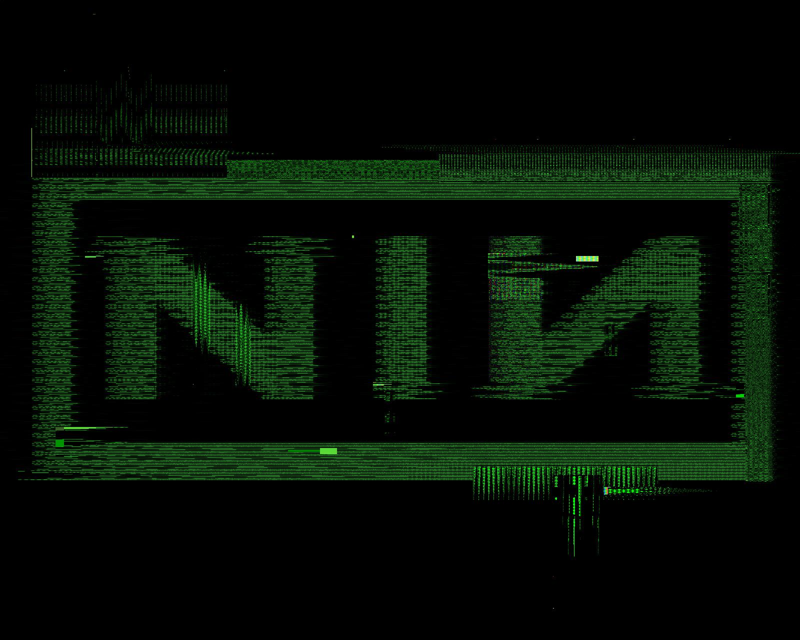 Nine Inch Nails Sin Logo NIN logo glitch by Cig...