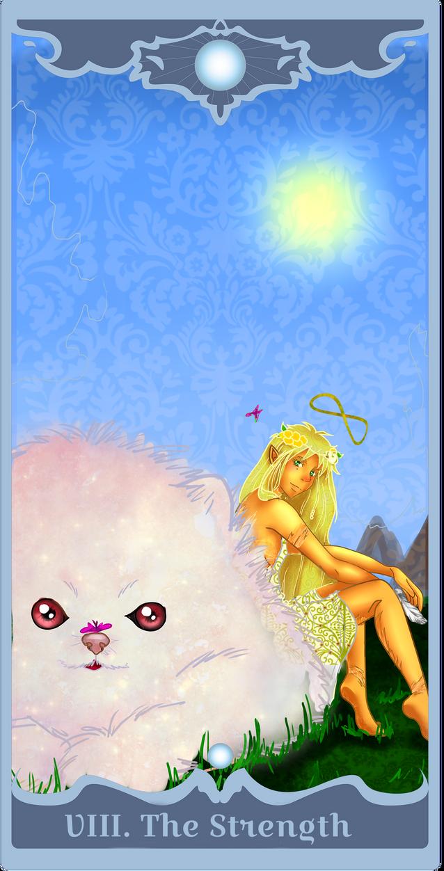 AE Tarot: VIII. The Strength by Mistress-Lillum