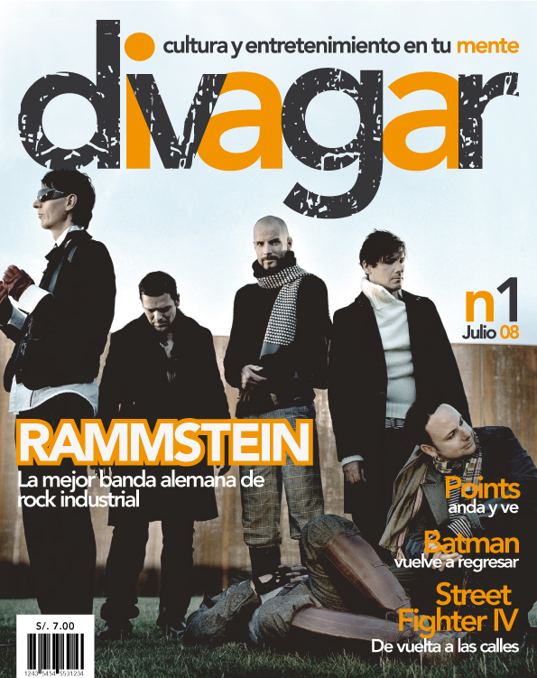 Magazine Cover - Rammstein by curseofthemoon