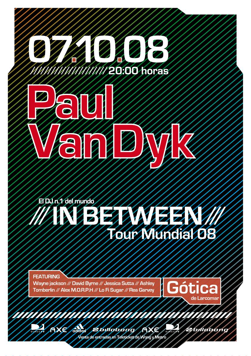Paul Van Dyk Poster by curseofthemoon