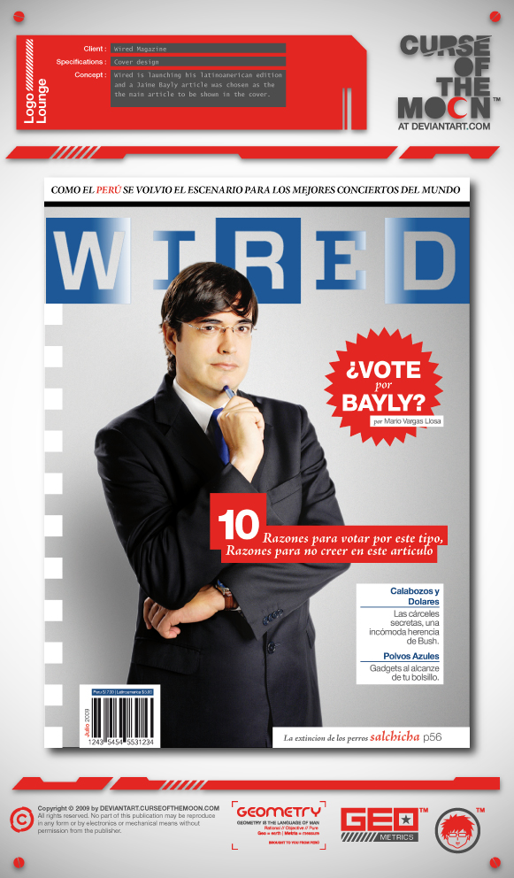Wired Peruvian Edition by curseofthemoon