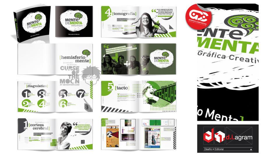 MENTEDEMENTA Studio Booklet by curseofthemoon