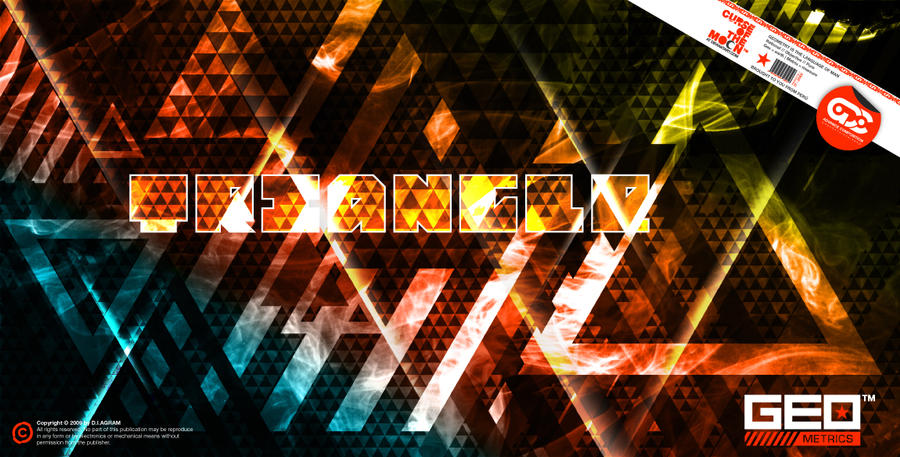 Triangle - GEOmetrics 01 by curseofthemoon
