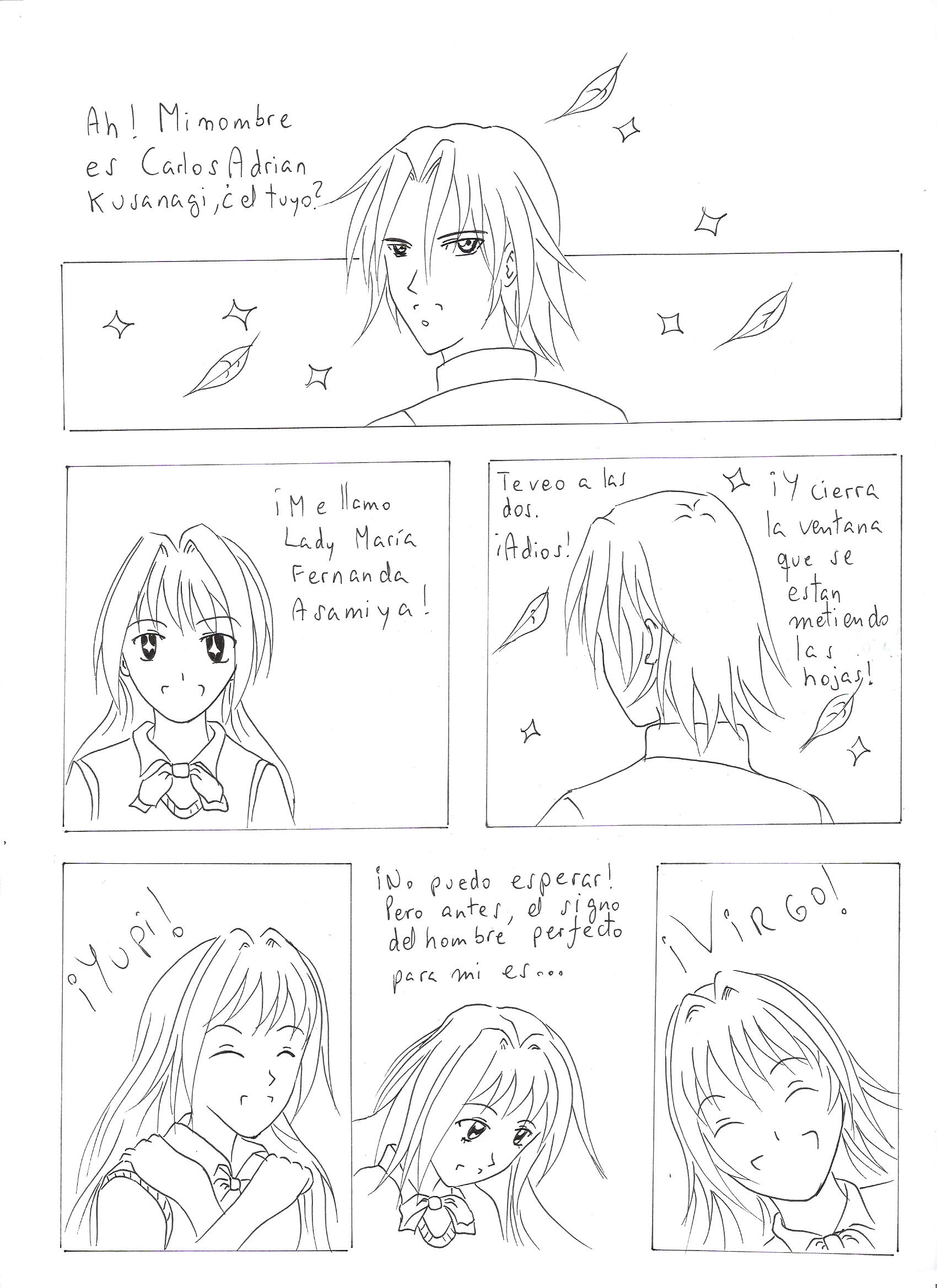 My first manga ever Page 4 by curseofthemoon