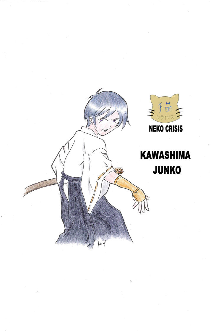 Kawashima Junko by curseofthemoon