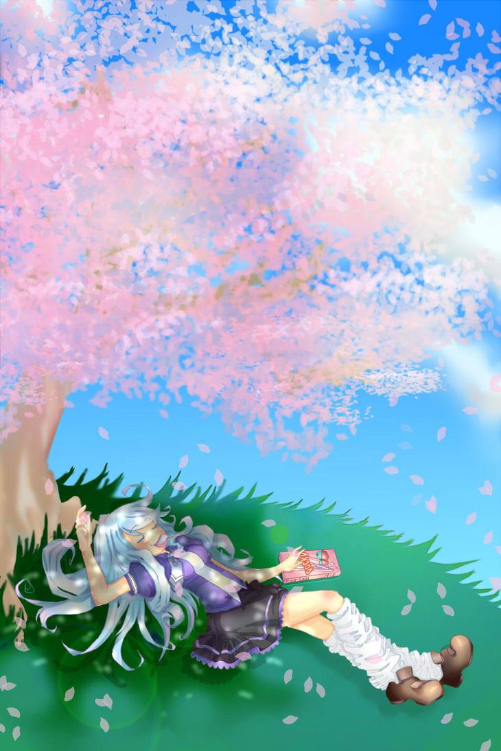 ~Under Da Tree~ by Chikalru-Chanx3