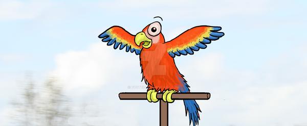 Parrot by Eystein