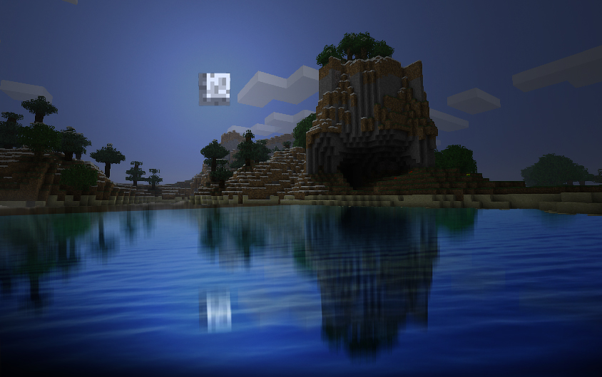 Beauty of minecraft by Eiglew