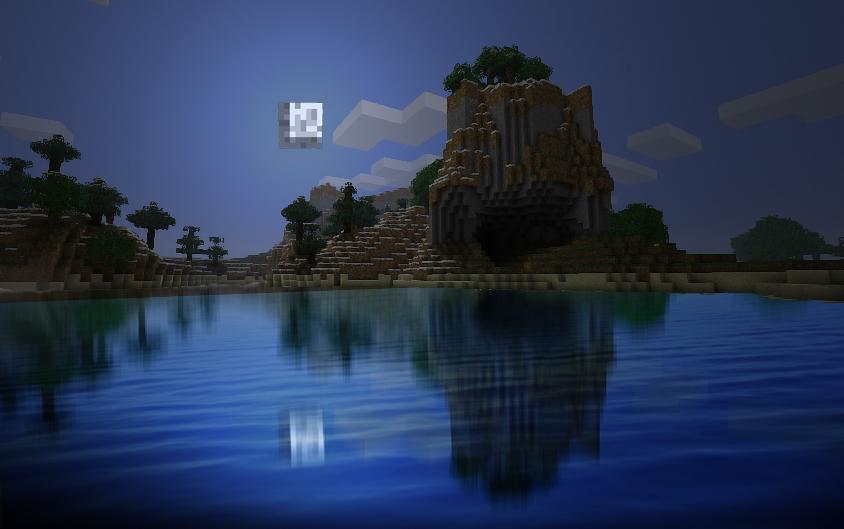 Beauty of minecraft by Eiglew