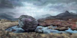 'Torridonian Sandstone' Speedpaint