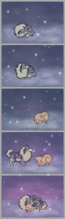 Friendship is... warm.