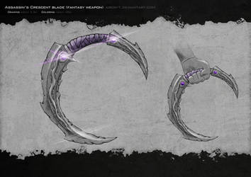 Assassin's Crescent Blade by Airon-T