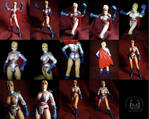 Custom Power Girl Six Inch Action Figure  1 of 2 by ayelid