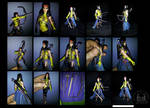 Marvel Legends Custom Moonstar Action Figure by ayelid