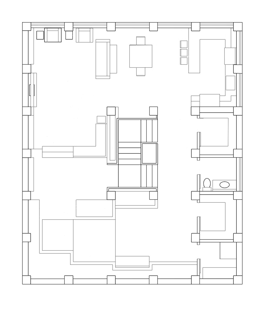 Mals Warehouse Unrendered 2nd Floor Plan By Indyhorizon On