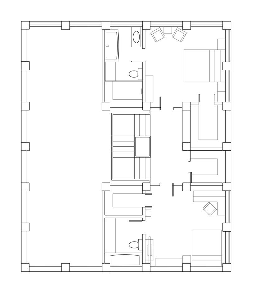Mals Warehouse Unrendered 3rd Floor Plan By Indyhorizon On