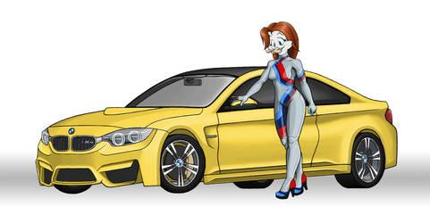 BMW M4 Advertisement by IndyHorizon