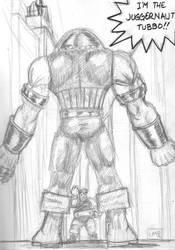 Juggernaut vs. The Blob by GoldenArms