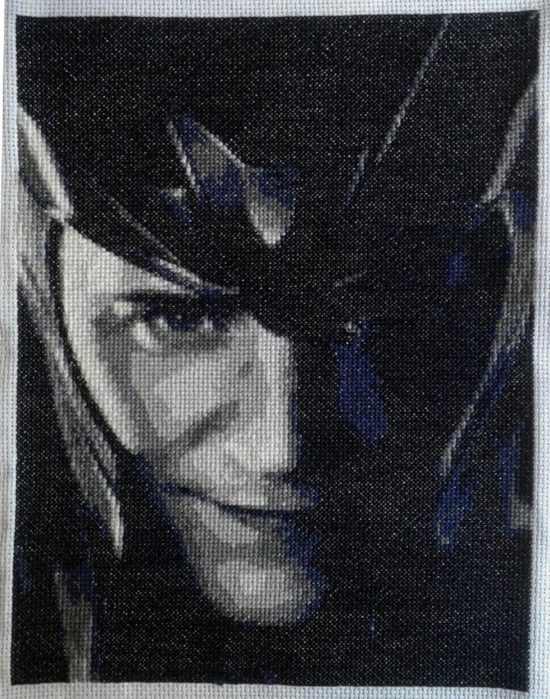 Loki cross stitch by AllSunday10