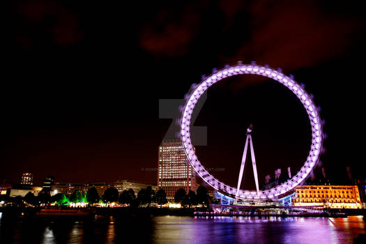Southbank London Eye Wheel