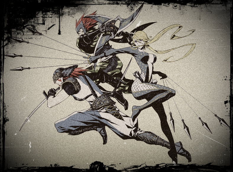 Sasuke,kasuka,fuuma by cyberiatem