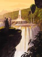 Magosi, The Waterveil by ericDeschamps