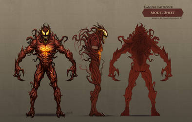 Carnage --Alternate costume-- by ericDeschamps