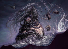 Wrexial, the Risen Deep by ericDeschamps