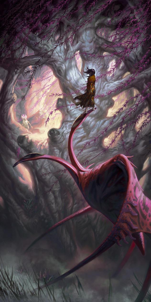 Rohu's Ocer Tree by ericDeschamps